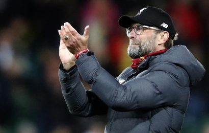 'Liverpool will not ease up after sealing title': Jurgen Klopp