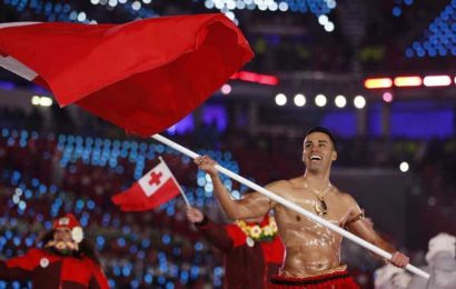 Olympic Day 2020: Tongan flag bearer leads off 23 fellow Olympians in workouts