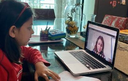 Ahmedabad: As preschools embrace virtual learning, parents try to keep up