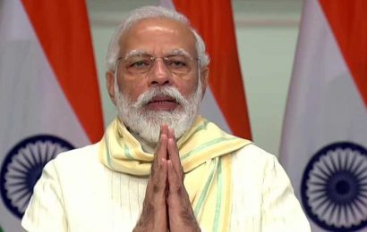 Yoga gives strength to face adversity, says PM Modi