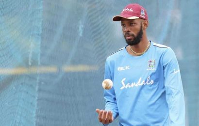 I'll not be happy if I don't get at least one century in England: Roston Chase