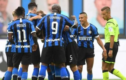 Inter again gives away a lead to draw 3-3 against Sassuolo