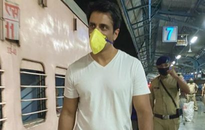 Sonu Sood sends over 1000 migrant workers to Uttar Pradesh and Bihar by train