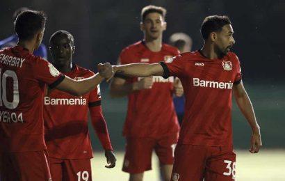 Leverkusen into German Cup final as 4th-tier team's run ends