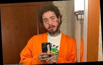 Post Malone Gives a Peek at New Flaming Skull Tattoo After Shaving Head