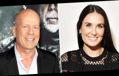 Demi Moore Says Ex Bruce Willis Is to Blame for Viral Bathroom Decor