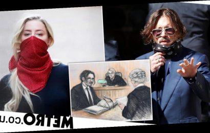 Johnny Depp 'found faeces in Amber Heard marital bed'