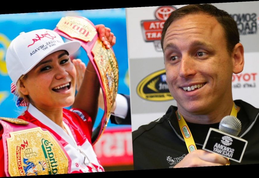 Joey Chestnut & Miki Sudo Break Records at Nathan's Hot Dog Eating Contest 2020!