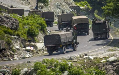 China has deployed over 20,000 troops along LAC