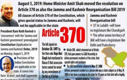 NCERT adds scrapping of Article 370, drops portion on Jammu and Kashmir separatist politics in its Class 12 textbook chapter