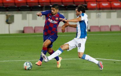 La Liga: Suarez scores as Barca condemn Espanyol to relegation