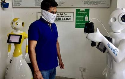 Robots to the rescue in times of coronavirus