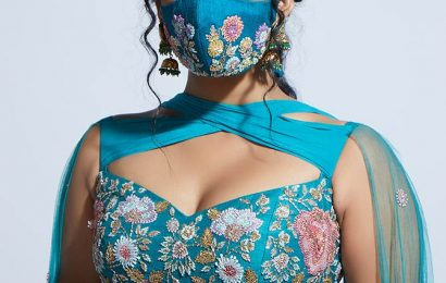 'Never thought masks would be part of bridal fashion'