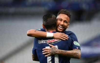 PSG beats 10-man St Etienne to win French Cup