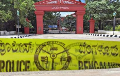 High Court complex in Bengaluru closed for a day for sanitisation