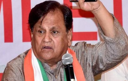 Sterling case: ED questions Congress leader Ahmed Patel for third time
