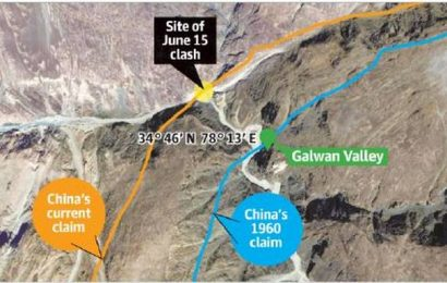 China has crossed its 1960 claims along the LAC