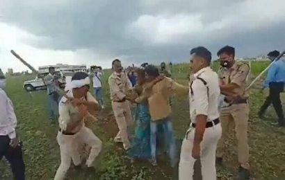 Rahul Gandhi tweets video showing police action against farmer couple