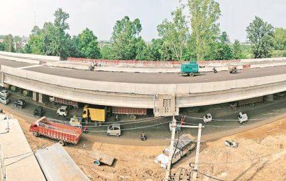After lockdown, Kharar flyover's construction gains momentum