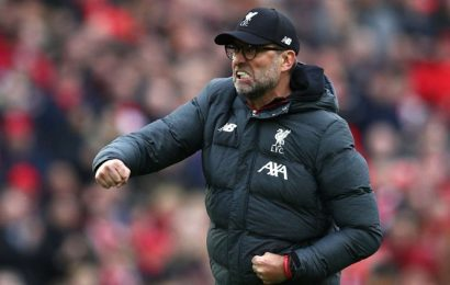 Liverpool boss Juergen Klopp wins LMA Manager of the Year award