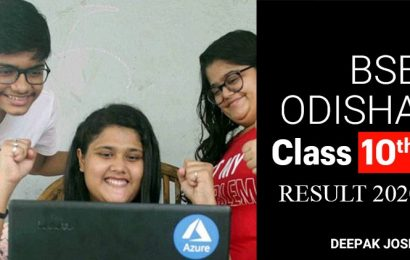 BSE Odisha Class 10th Result 2020: How to check marks
