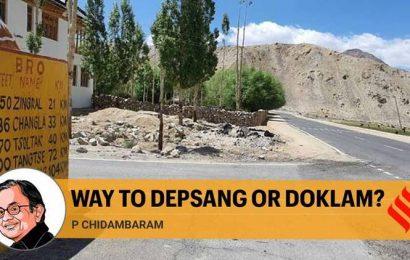Way to Depsang or Doklam?