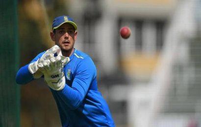 Quinton de Kock named men's Cricketer of the Year in CSA's virtual awards