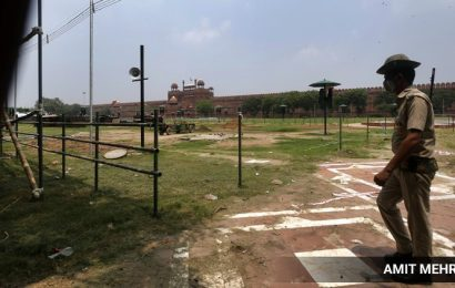 At Red Fort this Independence Day, no schoolchildren, police in PPE, list of invitees down to 250