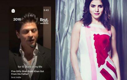 Samantha says, Incredible as mark of appreciation for ShahRukh Khan