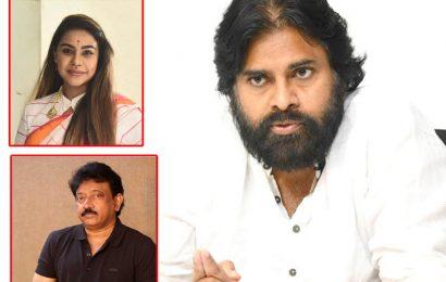 Sri Reddy in Pawan Kalyan and Ram Gopal Varma film?