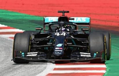 Hungarian Grand Prix: Lewis Hamilton takes pole
