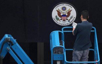 U.S. consulate in Chengdu readies for closure