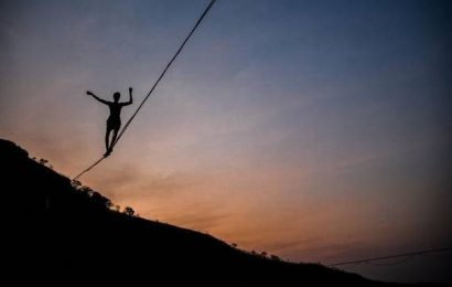 A glimpse into the ropes of highlining in India