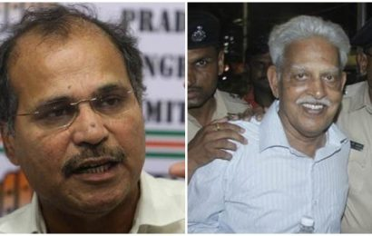 Adhir Ranjan Chowdhury writes to PM Modi, says poet Varavara Rao at 81 cannot be threat to nation