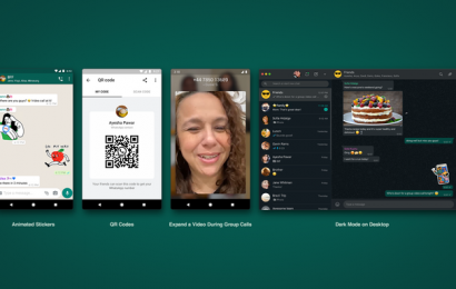 WhatsApp introduces animated stickers, QR codes