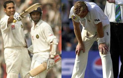 'That's not bad bowling, that's bloody good footwork': What Ian Chappell told Shane Warne after historic Eden Gardens Test