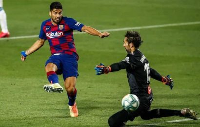 Barcelona win 1-0 to relegate Espanyol in La Liga