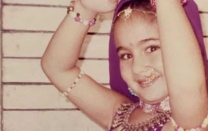 Sara Ali Khan's new throwback post is cuteness overload. Check it out here