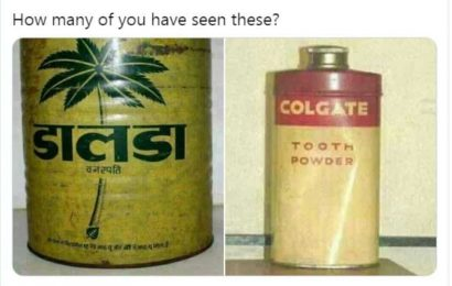 Images of old bottles of Dalda and Colgate tooth powder may send you down memory lane