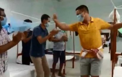 Residents at quarantine centre in Assam sing and dance to keep their spirits high. Watch
