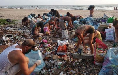 Foreigners holed up in Goa are lending a hand in cleaning city, sowing seeds