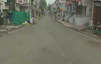 Maharashtra: Streets deserted in Aurangabad as city observes 9-day long Janta curfew