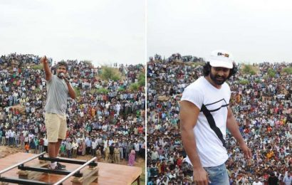 Team Baahubali shares throwback pics from the first day on sets seven years ago