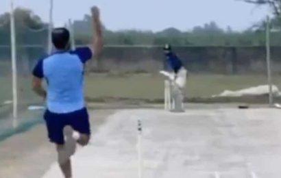 Pace, seam, rhythm: Mohammed Shami returns to bowling – WATCH