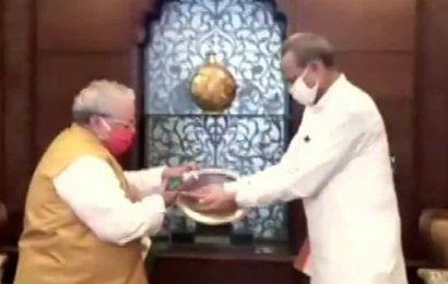 After Sachin Pilot's sacking, CM Gehlot meets Governor Kalraj Mishra