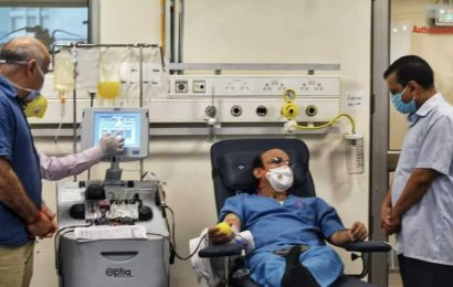 Delhi's gets its first plasma bank for Covid-19 treatment