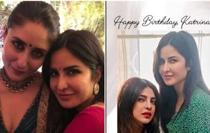 Priyanka Chopra, Kareena Kapoor wish Katrina Kaif on birthday, send her 'happiness and love'