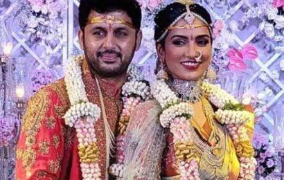 Telugu actor Nithiin marries Shalini Kandukuri in a close-knit ceremony, see pics