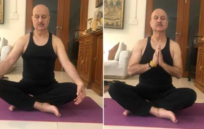 Anupam Kher says his domestic help took 30 'out of focus' yoga pics of actor, jokes about how he found his inner calm