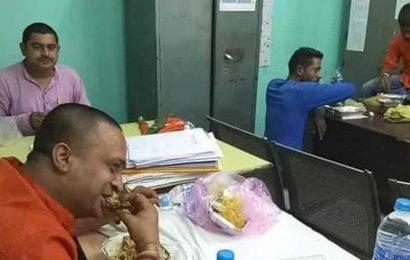 Bengal cop transferred from hill region to coastal belt after BJP agitators enjoy mutton-rice in custody